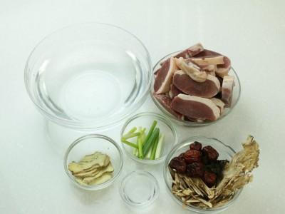 食譜-養生歸耆鴨湯