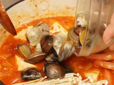 食譜-番茄海鮮鍋
