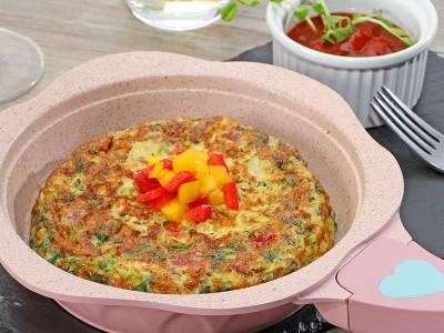 食譜-菠菜烘蛋