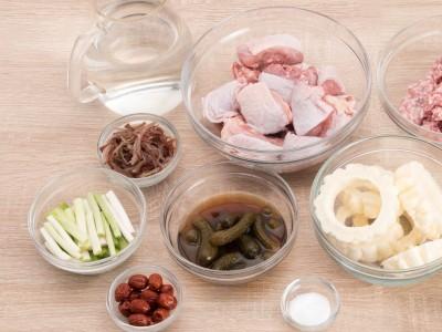 食譜-【一鍋兩菜】苦瓜封&木耳瓜仔雞湯