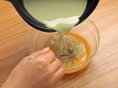 食譜-焦糖抹茶布丁