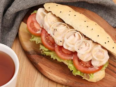 食譜-雞肉沙拉三明治