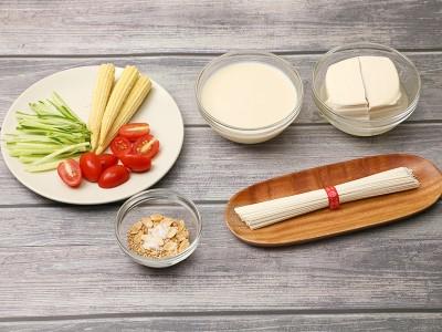 食譜-豆漿冷麵
