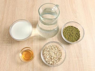 食譜-綠豆薏仁牛奶飲