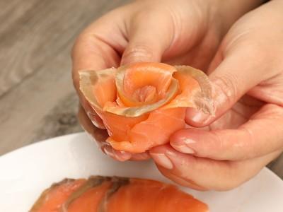 食譜-燻鮭魚水果沙拉