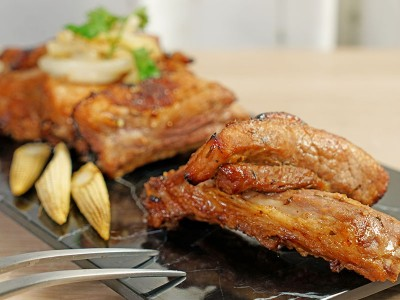 食譜-氣炸蜜汁豬肋排
