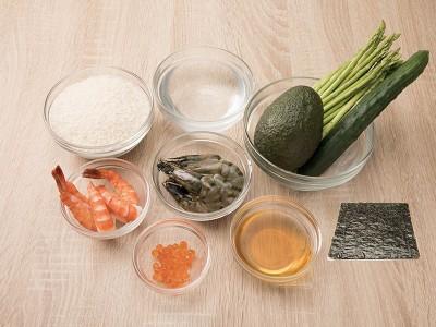 食譜-手捲壽司