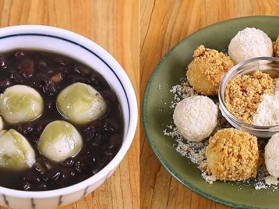 食譜-DIY自製抹茶紅豆湯圓