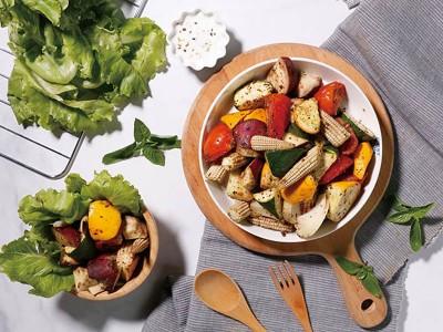 食譜-義式香料烤時蔬