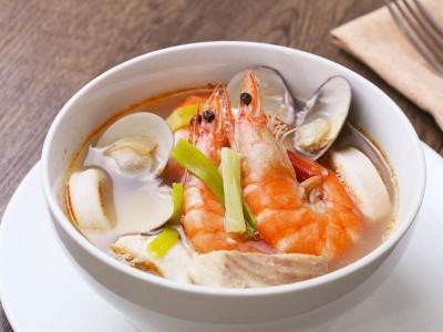 食譜-海鮮清湯