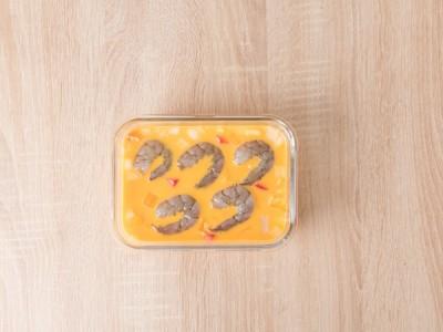 食譜-時蔬海鮮烤蛋