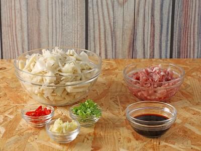 食譜-竹筍炒肉絲