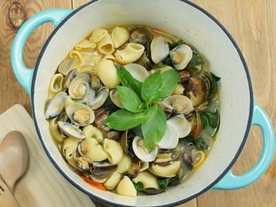 食譜-地中海麵香蛤蜊麵