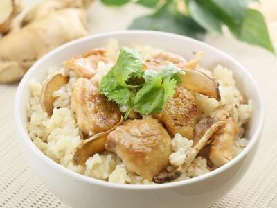 食譜-麻油雞飯