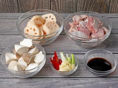 食譜-蓮藕燒雞