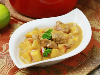 食譜-椰香咖哩豬
