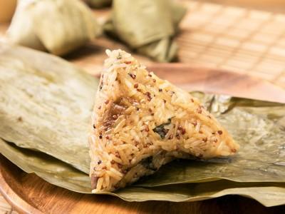 食譜-紅藜杏菇素粽