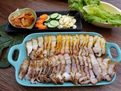 食譜-氣炸四色五花肉【氣炸烤箱料理】