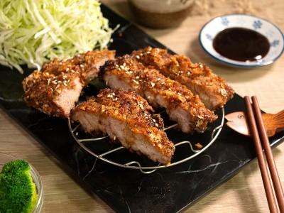 食譜-醬味豬排