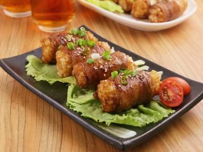 食譜-日式飯糰燒肉捲