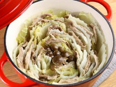 食譜-日式千層豬肉白菜鍋