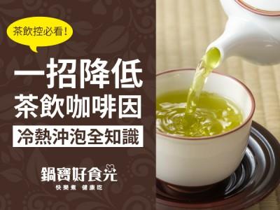 食譜-茶飲控必看!一招降低茶飲咖啡因