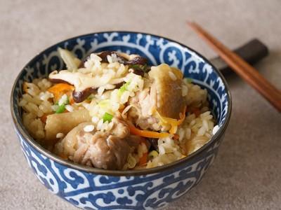 食譜-香菇雞肉風味飯【電鍋料理】