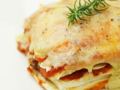 食譜-焗烤土司千層麵