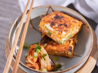 食譜-韓式泡菜煎餅