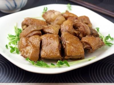 食譜-【食譜】電鍋宴客料理----玫瑰油雞