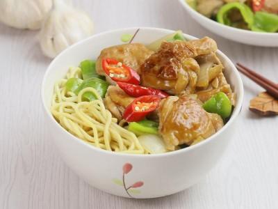 食譜-花雕雞麵