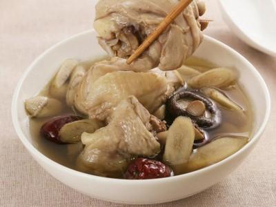 食譜-牛蒡香菇雞湯