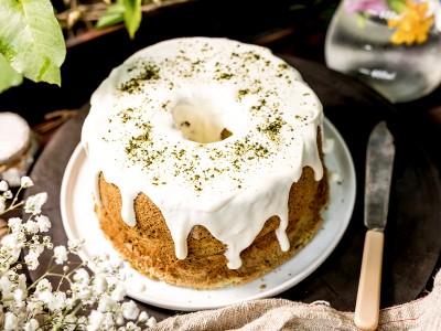 食譜-抹茶戚風蛋糕