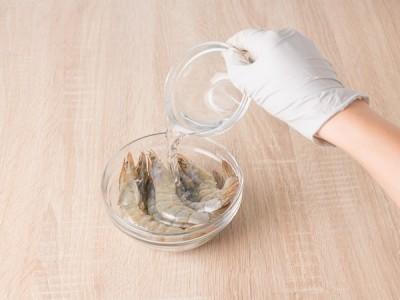食譜-氣炸香蒜燒酒蝦