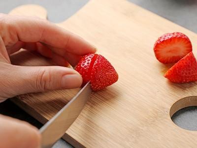 食譜-草莓雪人