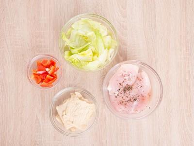 食譜- 蔬食豆皮捲