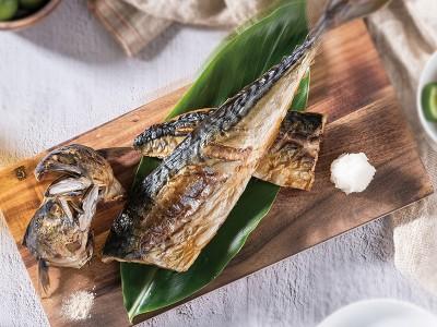 食譜-椒香烤薄鹽鯖魚