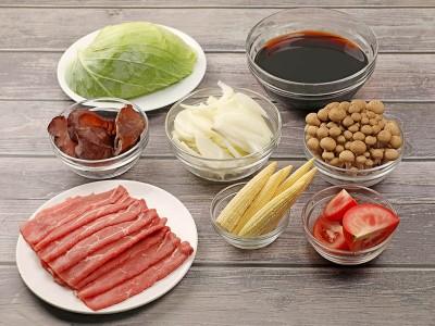 食譜-高纖日式壽喜燒