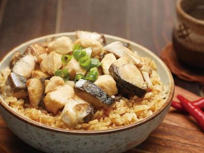 食譜-鹹魚雞粒煲仔飯