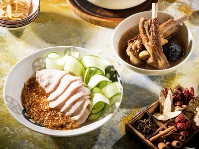 食譜-蒜泥白肉與肉骨茶