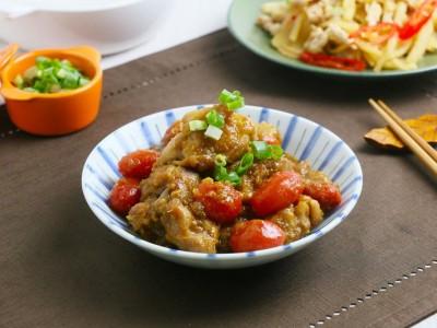 食譜-醬燒蕃茄雞丁