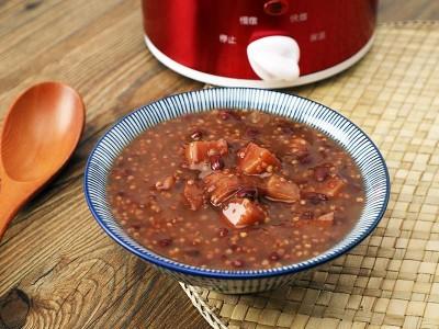 食譜-山藥小米紅豆粥