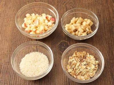 食譜-香蕉蘋果燕麥粥