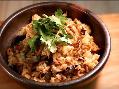 食譜-【阿芳廚房】古早味油飯