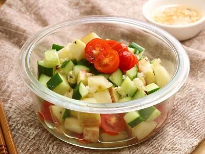 食譜-時蔬佐油醋沙拉