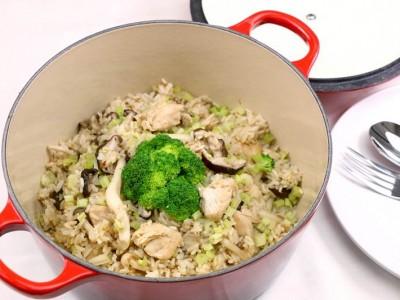 食譜-纖活鮮菇燉飯