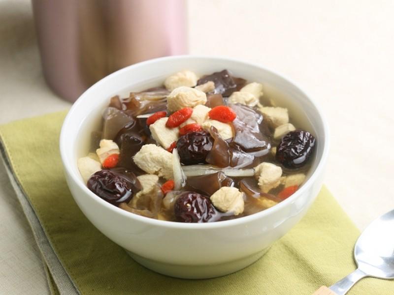 食譜-黑木耳雞丁湯