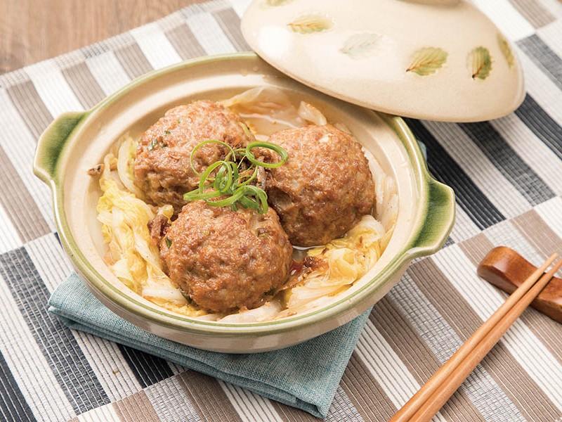 食譜-XO醬清燉獅子頭