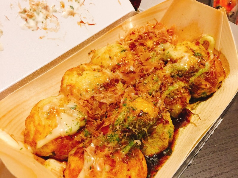 餐桌-大阪章魚燒