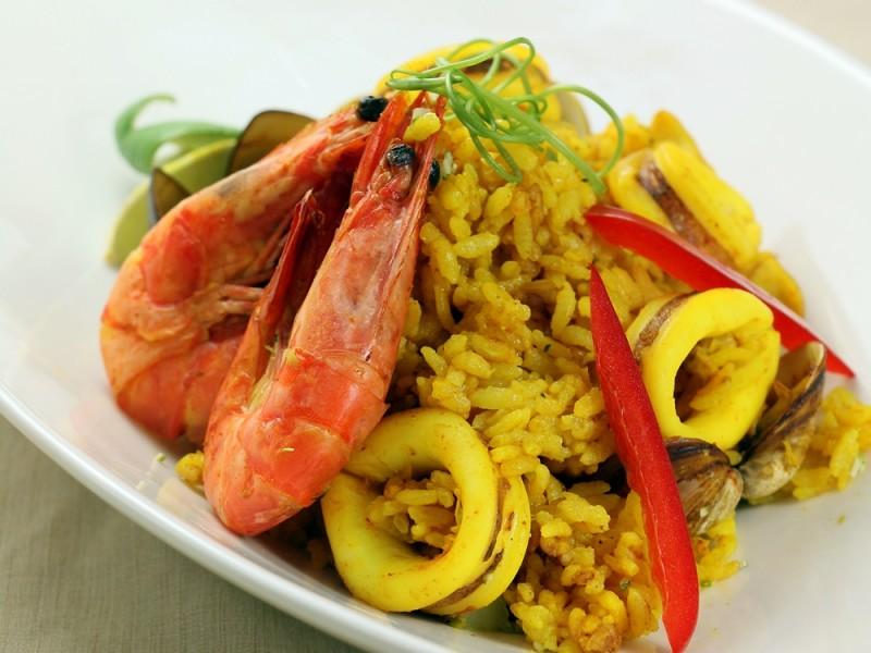 食譜-薑黃海鮮燉飯